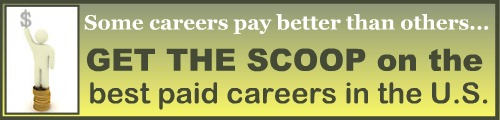 Find out which are the best paid careers