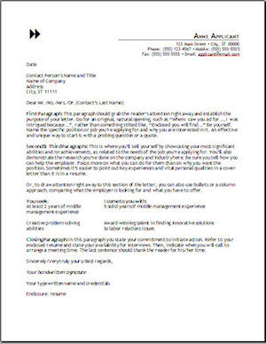 Resume Cover Letter Format   Tips On Cover Letter Formats On A Resume Cover  Page