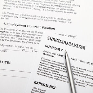 Curriculum vitae templates can help you get started