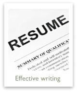 Learn how to do effective resume writing