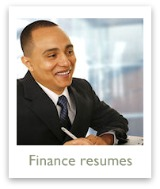 Click to see finance resume examples