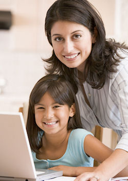 Home business training helps moms stay home with their families