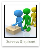 Take quizzes, vote in polls, share horror stories & more!
