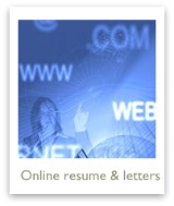 How to do online resumes &  cover letters