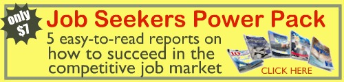 Get our Job Seekers Power Pack for only $7!