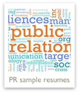 See some public relations resume examples