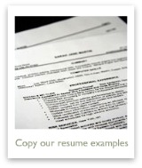 Learn from our many resume examples in every format
