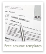 Jumpstart resume writing with a resume template