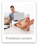 Get info on starting a freelance career to tide you over