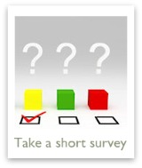 Take a poll or short survey