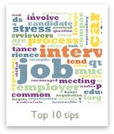 Get our top 10 tips for excelling in job interviews