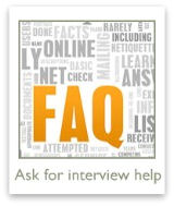 Ask your most pressing questions about job interviews