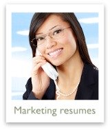 Marketing resume examples are found here