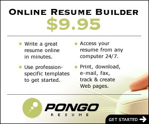Use Pongo Resume